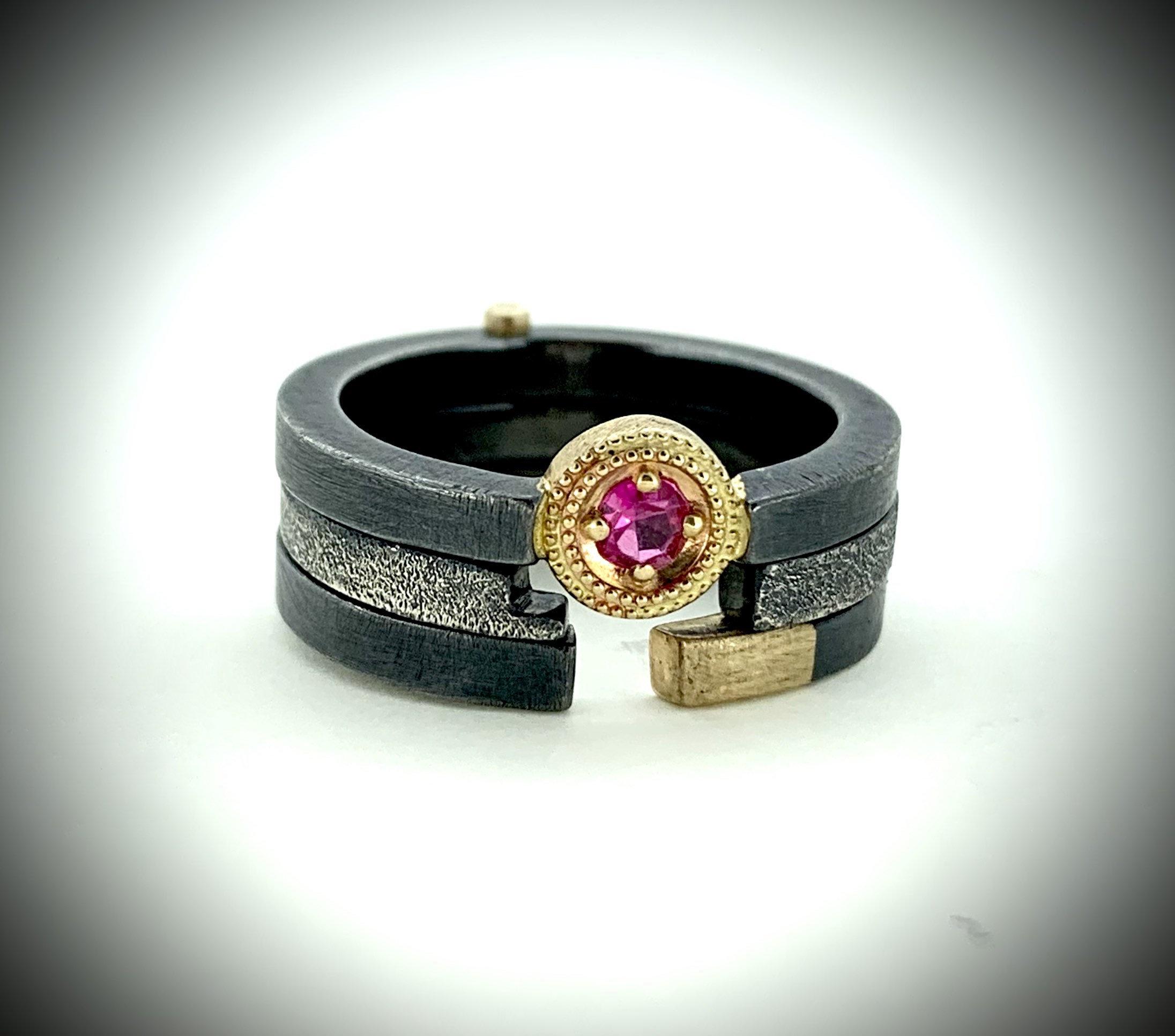 Triple ring Ruby