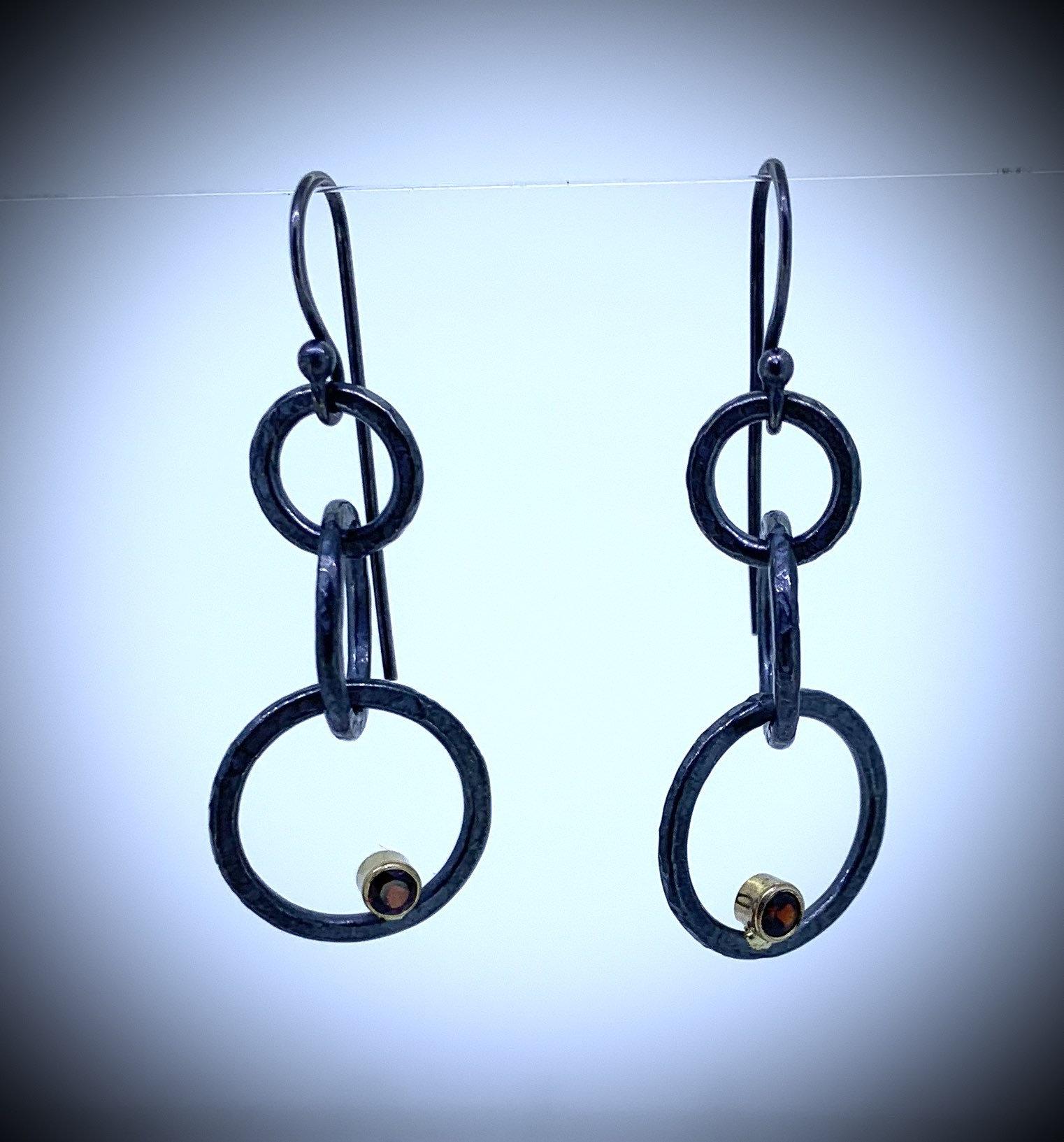 Garnet hoops